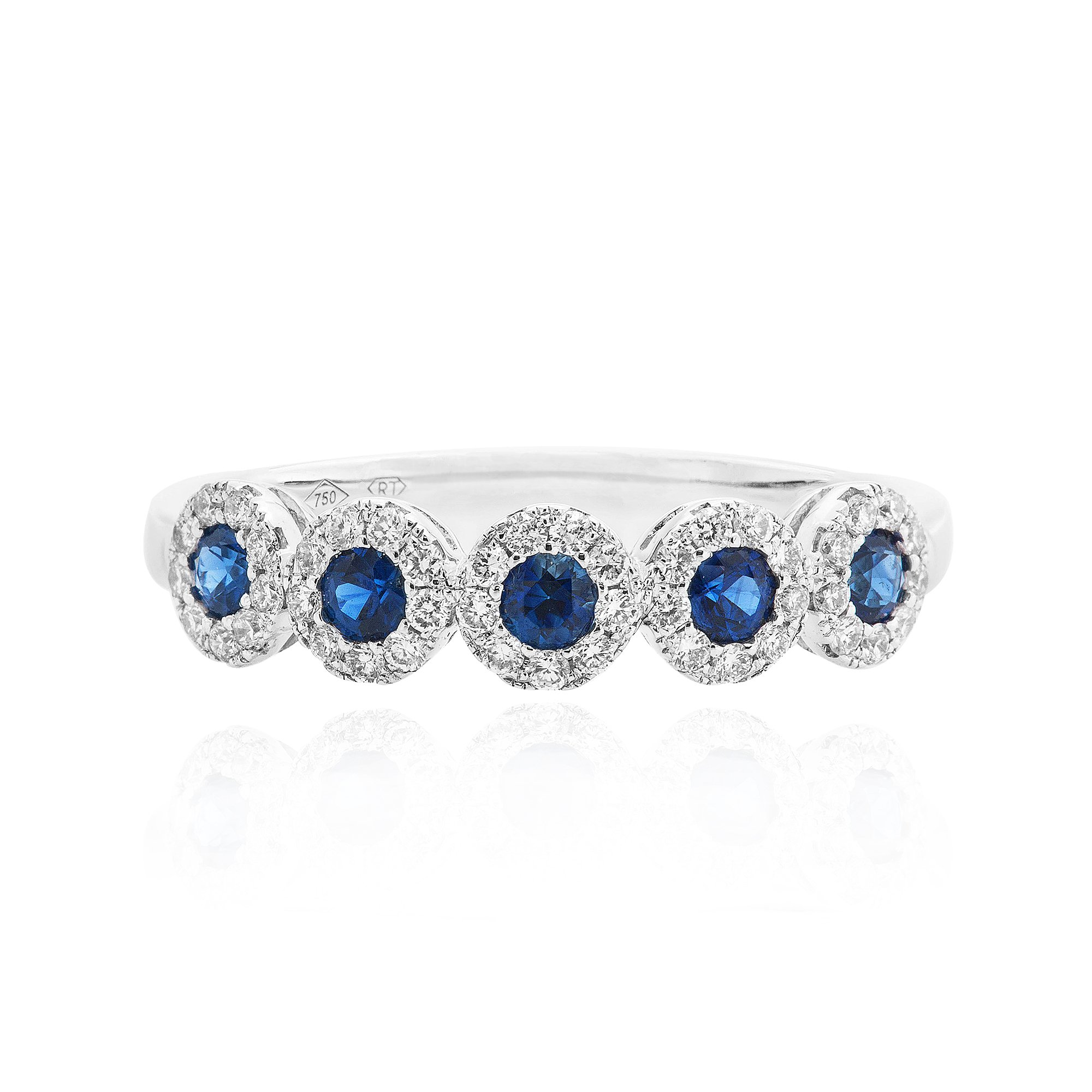 sheba hall round fine ring dinny brilliant cut and sapphire diamond rings lemon